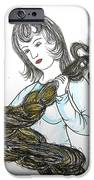 Girl and Tow iPhone Case by Marwan George Khoury