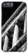Greek Columns iPhone Case by John Rizzuto