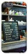 Groceries in General Store iPhone Case by Susan Savad