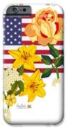 Happy Birthday America 2013 iPhone Case by Anne Norskog