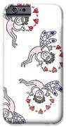Happy Elves iPhone Case by Hartmut Jager