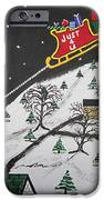 Help Santa's Stuck iPhone Case by Jeffrey Koss