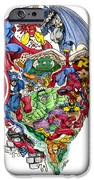 Heroic Mind iPhone Case by John Ashton Golden