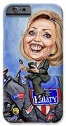 Hillary Clinton 2016 iPhone Case by Mark Tavares