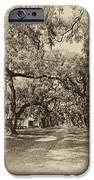 Historic Lane antique sepia iPhone Case by Steve Harrington