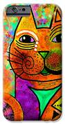 House of Cats series - Blinks iPhone Case by Moon Stumpp
