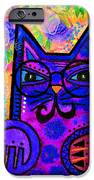 House of Cats series - Paws iPhone Case by Moon Stumpp