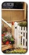 House - Rutherford NJ - My Grandmother's Garden  iPhone Case by Mike Savad