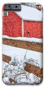 It's Snowing Square iPhone Case by Bill  Wakeley