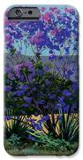 Jacaranda Holy Ghost Church in Kula Maui Hawaii iPhone Case by Don Jusko