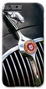 Jaguar 3 4 litre Classic Car iPhone Case by Tim Gainey