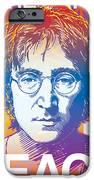 John Lennon Pop Art iPhone Case by Jim Zahniser