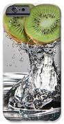 Kiwi FreshSplash iPhone Case by Steve Gadomski