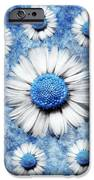 La Ronde Des Marguerites - Blue v05 iPhone Case by Variance Collections