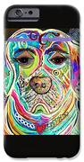 LADY BOXER iPhone Case by Eloise Schneider