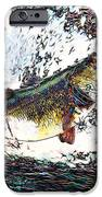 Largemouth Bass p180 iPhone Case by Wingsdomain Art and Photography