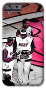 LeBron's 1st Ring iPhone Case by J Anthony