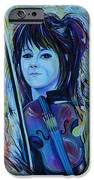 Lindsey Stirling iPhone Case by Anna  Duyunova