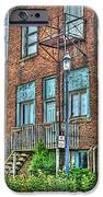 Living Downtown Up North iPhone Case by MJ Olsen