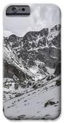 Longs Peak Winter iPhone Case by Aaron Spong