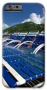 Lounge Chairs Adventure of the Seas iPhone Case by Amy Cicconi