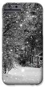 Made in Maine Winter  iPhone Case by Brenda Giasson