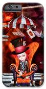 Madness in the Hatter's Realm iPhone Case by Putterhug  Studio