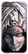 Mary Super Petram - Study No. 1 iPhone Case by Steve Bogdanoff