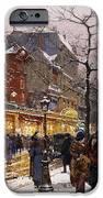 Matinee au Moulin Rouge Paris iPhone Case by Eugene Galien-Laloue