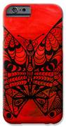 Max The Butterfly iPhone Case by Kenal Louis