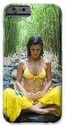Meditation in Bamboo Forest iPhone Case by M Swiet Productions