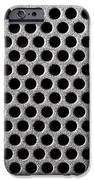 Metal grill dot pattern iPhone Case by Simon Bratt Photography LRPS