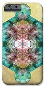 Metatron's Cube iPhone Case by Filippo B