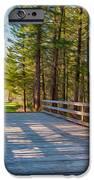 Methow Valley Community Trail at Wolf Creek Bridge iPhone Case by Omaste Witkowski