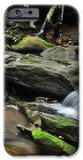 Mini Waterfalls iPhone Case by Kaye Menner