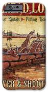 Moosehead Lodge iPhone Case by JQ Licensing