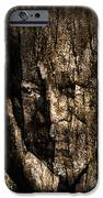 Morgan Freeman Roots digital painting iPhone Case by Georgeta Blanaru