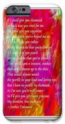 Mother If I Could Give You 2 iPhone Case by Barbara Griffin