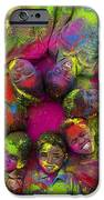 Multicoloured boys iPhone Case by Tim Gainey