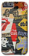 Music street art color iPhone Case by Luciano Mortula