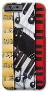 Musical Motifs iPhone Case by Ann Horn