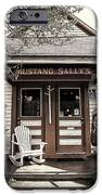 Mustang Sally's iPhone Case by Ron Regalado