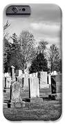 National Cemetery - Gettysburg Battlefield iPhone Case by Brendan Reals