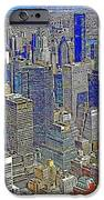 New York Skyline 20130430v4-square iPhone Case by Wingsdomain Art and Photography