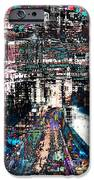 Night Crossover iPhone Case by Mary Clanahan