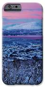 Norwegian Arctic Twilight iPhone Case by David Broome