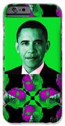 Obama Abstract Window 20130202verticalp128 iPhone Case by Wingsdomain Art and Photography