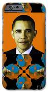Obama Abstract Window 20130202verticalp28 iPhone Case by Wingsdomain Art and Photography