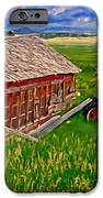 Old Homestead Near Townsend Montana iPhone Case by Michael Pickett