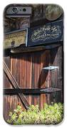 Old Storage Shed At the Swiss Hotel Sonoma California 5D24459 iPhone Case by Wingsdomain Art and Photography
